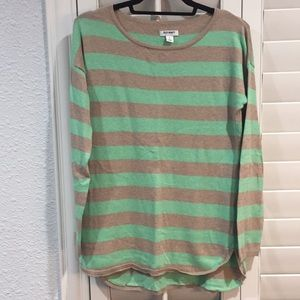 Old Navy | Mint Striped Sweater - Long!